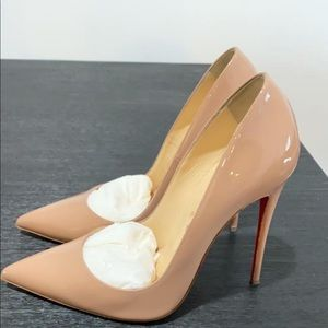 So Kate 120 Nude Patent